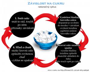Cyklus závislosti na cukru