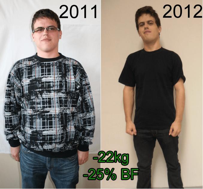 Na začátku a po roce a půl