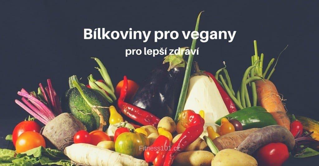 Bílkoviny pro vegany