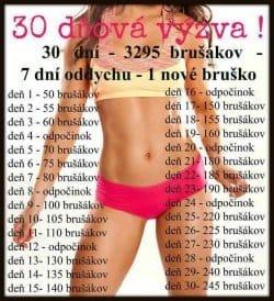 30 denní výzva břícho