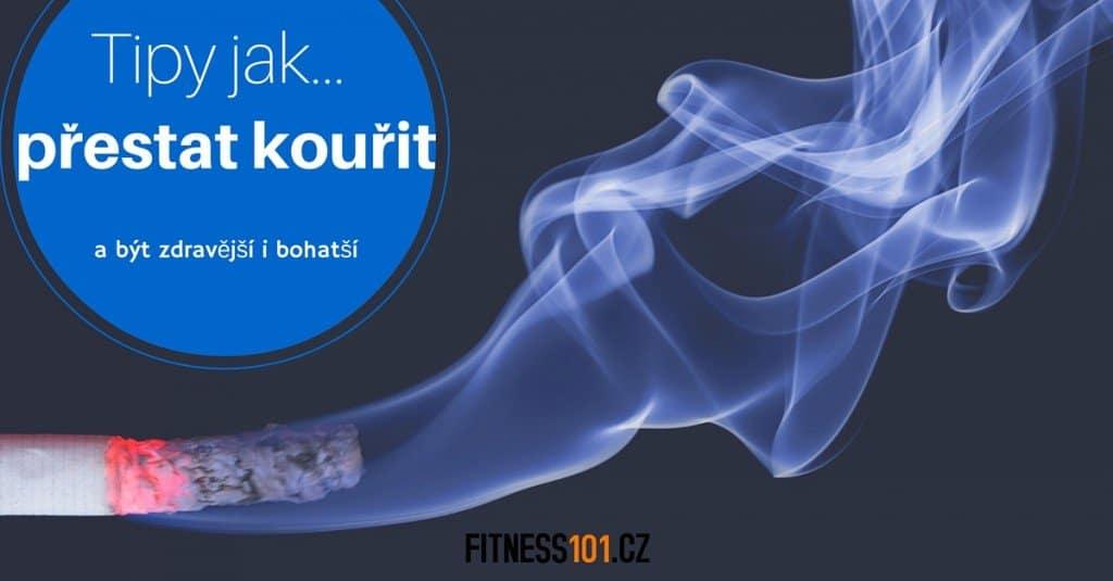 rady a tipy jak přestat s kouřením